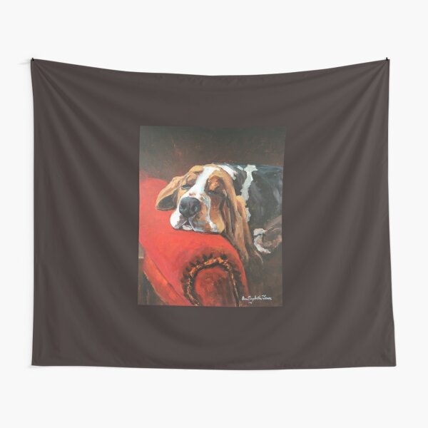 Let Sleeping Dogs Lie Tapestry
