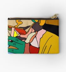 Smoking Man 8102 by overgao Studio Pouch