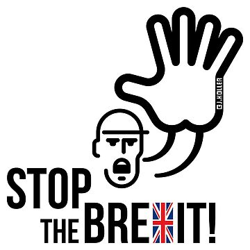 Stop The Brexit! (Europe / Great Britain / British Exit / UK) by MrFaulbaum
