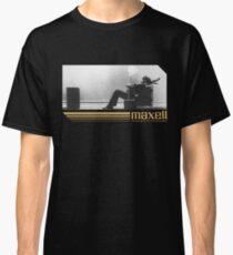 Camiseta clásica Anuncio de cassette retro de los 80