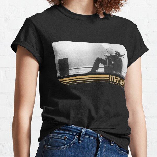 Anuncio de cassette retro de los 80 Camiseta clásica