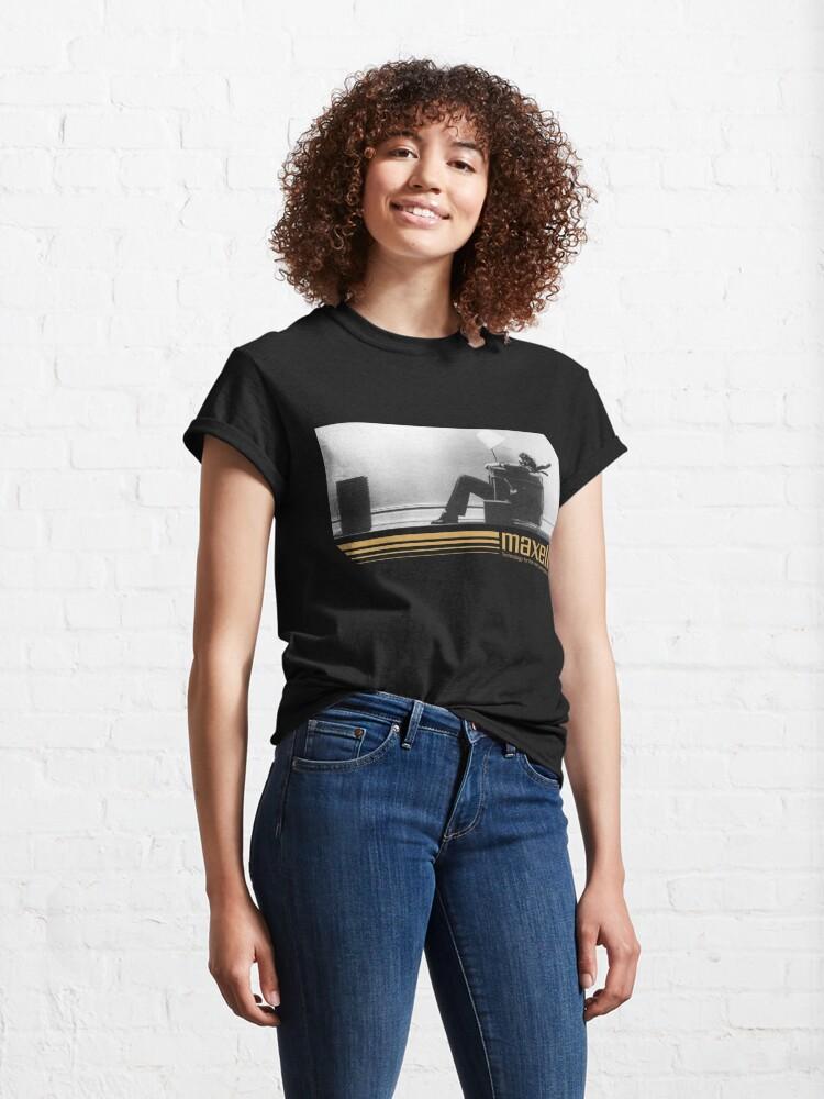 Alternate view of 80's Retro Cassette Ad Classic T-Shirt