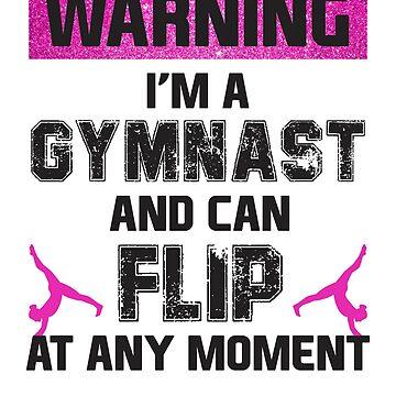Flipping Gymnast by MikeMcGreg