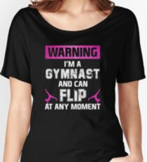 Flipping Gymnast Women's Relaxed Fit T-Shirt