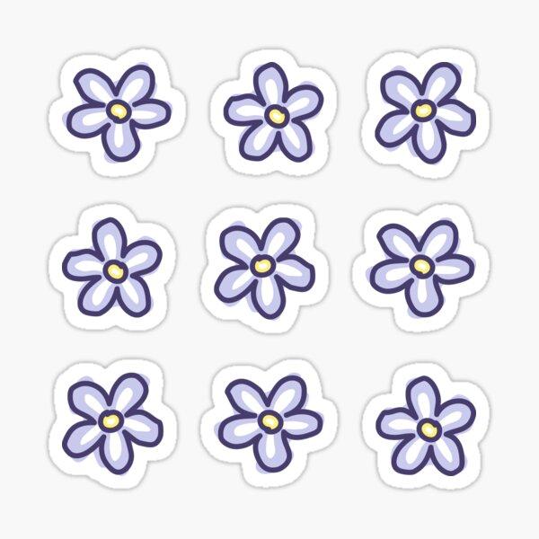 Lavender Flowers (9 Multi Pack) Sticker