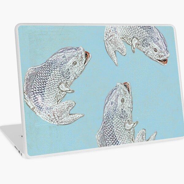 Fish are jumpin' Laptop Skin