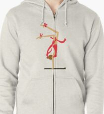 Another Ballet Girl Zipped Hoodie