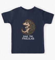 Cute Save the Pangolins Gift Pangolins schützen Kinder T-Shirt