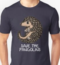 Cute Save the Pangolins Gift Pangolins schützen Slim Fit T-Shirt