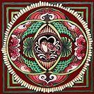 Lovebird Mandala by Julie Ann Accornero