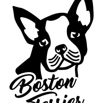 Boston terrier head by Designzz