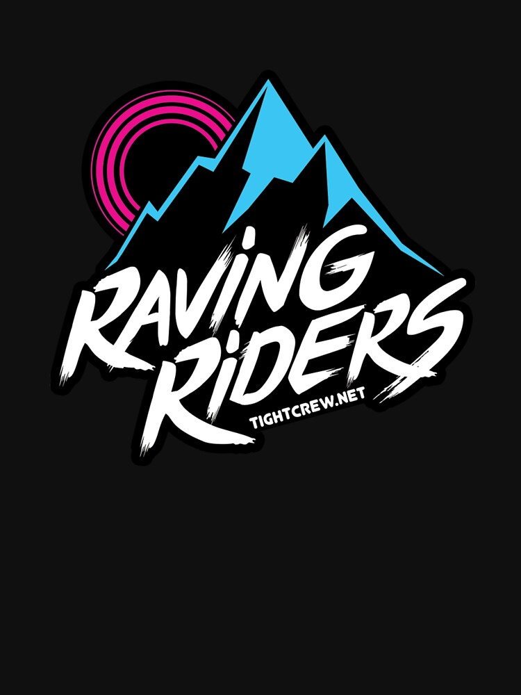 Tight Crew's Raving Riders Logo by bspenn1985
