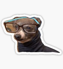 Kermit in a Turtleneck Sticker