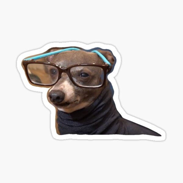 Kermit in a Turtleneck Sticker