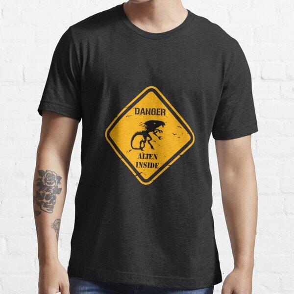 Danger alien inside Essential T-Shirt