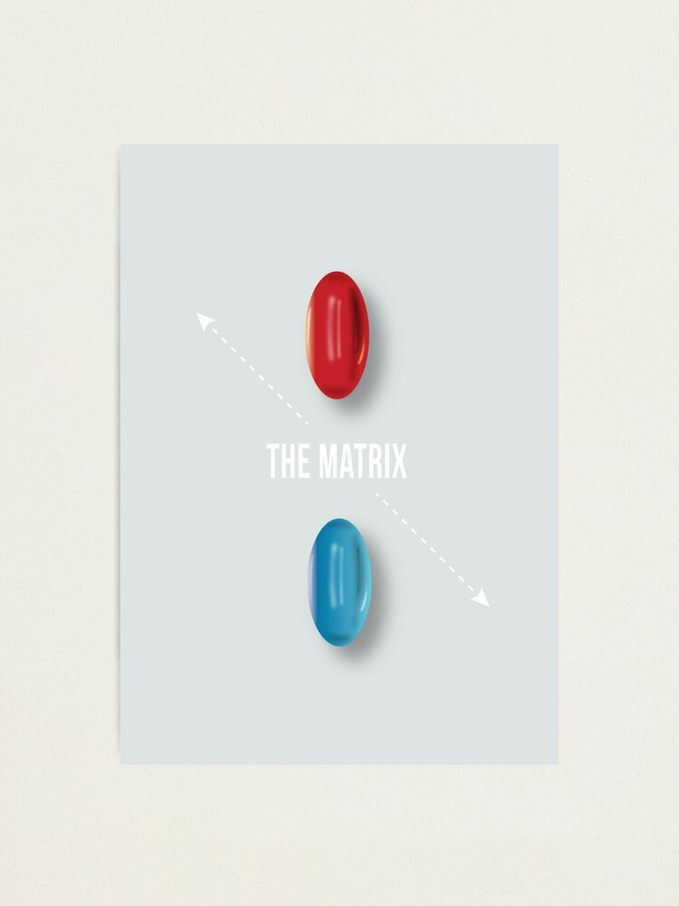 Alternate view of The Matrix - Alternative Movie Poster Photographic Print