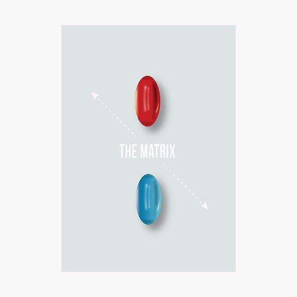 The Matrix - Alternative Movie Poster Photographic Print