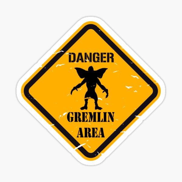 Danger Gremlin Sticker
