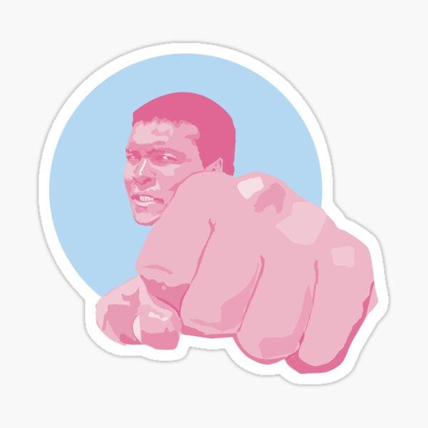 Muhammad Ali - Cassius Marcellus Clay Sticker