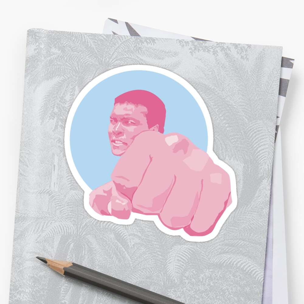 Muhammad Ali - Cassius Marcellus Clay Sticker