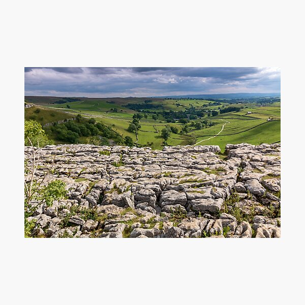 Malham - Yorkshire Dales Photographic Print