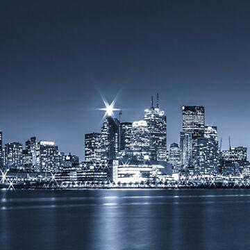 Toronto Skyline 2 by baneling
