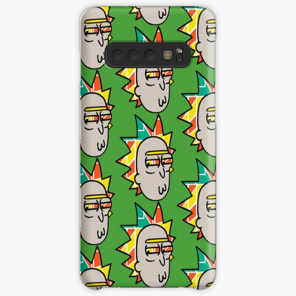 Rick Lips and Colorful Hair Case & Skin for Samsung Galaxy