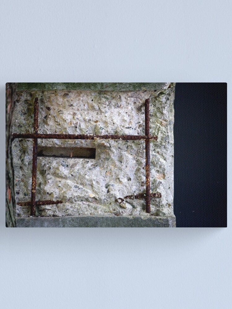 Alternate view of Exposed Canvas Print