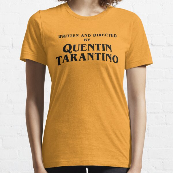Written And Directed By Quentin Tarantino Stuffs Essential T-Shirt