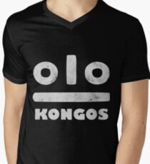 KONGOS Men's V-Neck T-Shirt