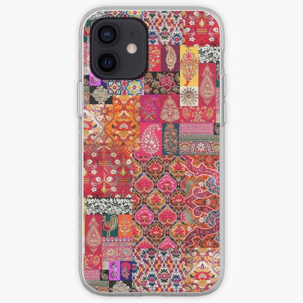 -A35- Traditional Colored Moroccan Artwork. iPhone Soft Case