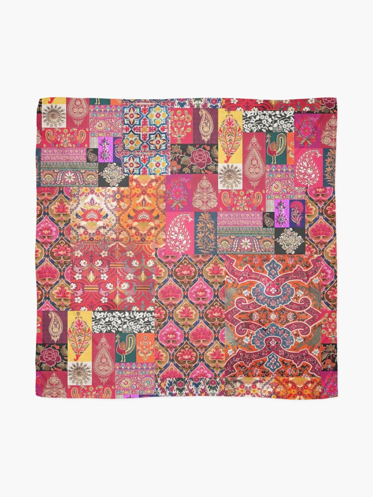 Alternate view of -A35- Traditional Colored Moroccan Artwork. Scarf