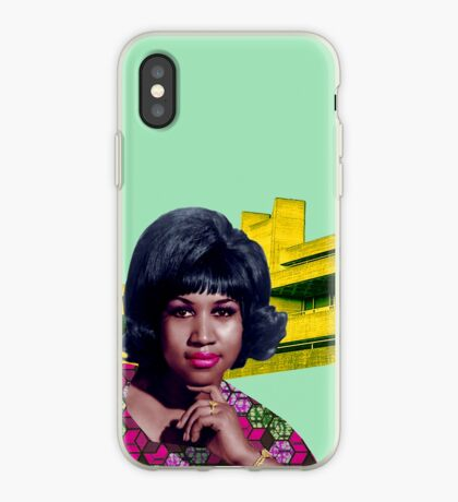 THE QUEEN OF SOUL iPhone Case
