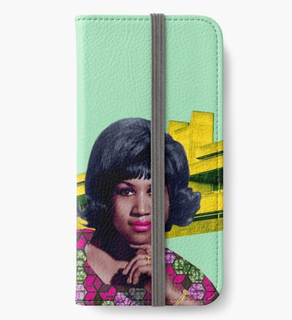 THE QUEEN OF SOUL iPhone Wallet