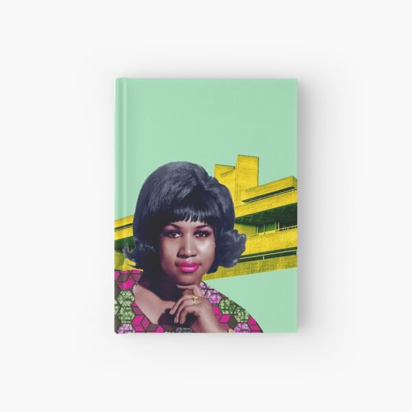 THE QUEEN OF SOUL Hardcover Journal