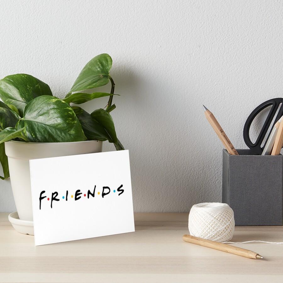 friends Art Board Print