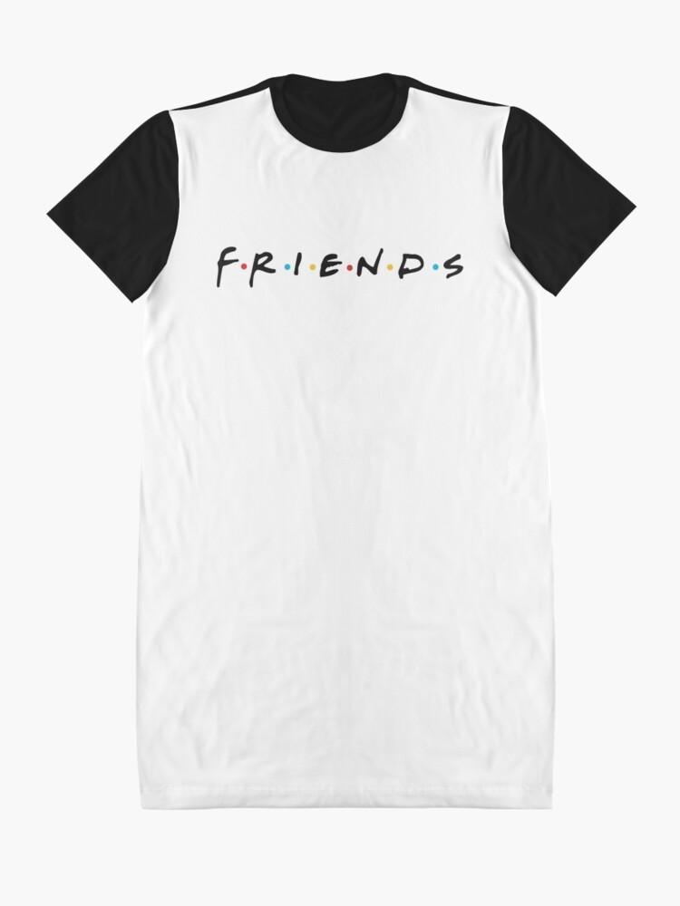 Alternate view of friends Graphic T-Shirt Dress