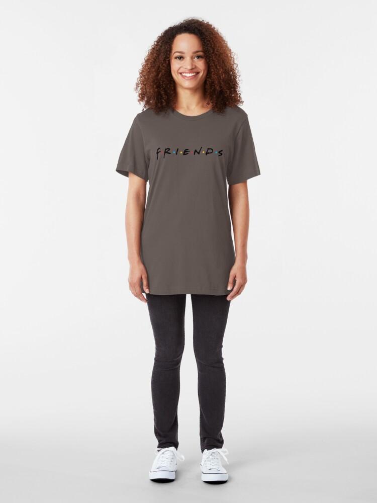 Alternate view of friends Slim Fit T-Shirt