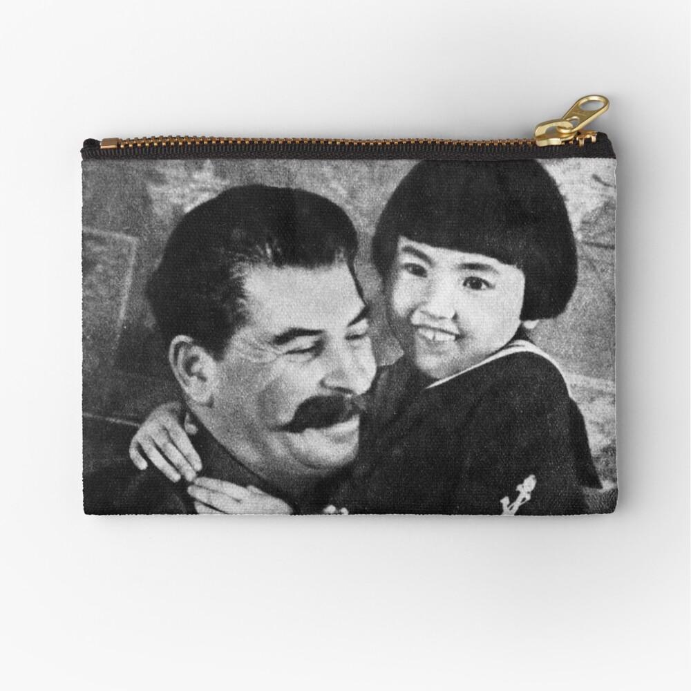 Stalins cult of personality #Сталин #ИосифВиссарионович #Ежов #Берия #Жданов #Молотов #Ленин #ГУЛАГ #Нориллаг #Культличности #репрессии #депортация #тюрьма #казнь #политзаключенный #Stalin Zipper Pouch