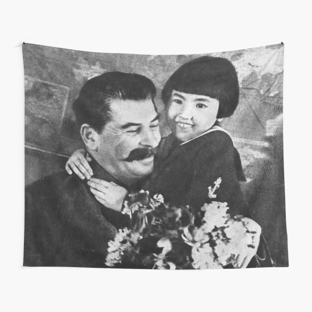Stalins cult of personality #Сталин #ИосифВиссарионович #Ежов #Берия #Жданов #Молотов #Ленин #ГУЛАГ #Нориллаг #Культличности #репрессии #депортация #тюрьма #казнь #политзаключенный #Stalin Wall Tapestry