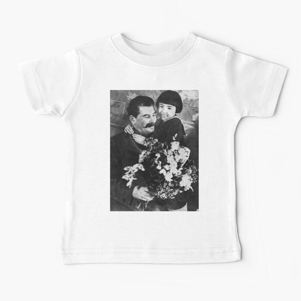 Stalins cult of personality #Сталин #ИосифВиссарионович #Ежов #Берия #Жданов #Молотов #Ленин #ГУЛАГ #Нориллаг #Культличности #репрессии #депортация #тюрьма #казнь #политзаключенный #Stalin Baby T-Shirt