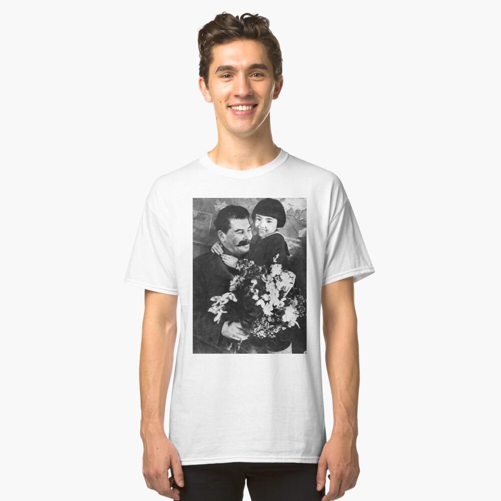 Stalins cult of personality #Сталин #ИосифВиссарионович #Ежов #Берия #Жданов #Молотов #Ленин #ГУЛАГ #Нориллаг #Культличности #репрессии #депортация #тюрьма #казнь #политзаключенный #Stalin Classic T-Shirt