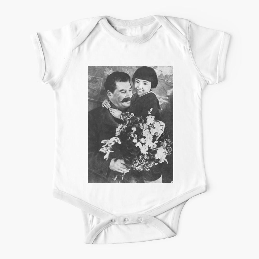 Stalins cult of personality #Сталин #ИосифВиссарионович #Ежов #Берия #Жданов #Молотов #Ленин #ГУЛАГ #Нориллаг #Культличности #репрессии #депортация #тюрьма #казнь #политзаключенный #Stalin Baby One-Piece