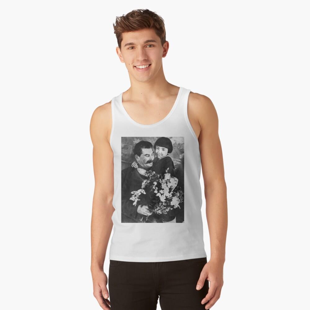 Stalins cult of personality #Сталин #ИосифВиссарионович #Ежов #Берия #Жданов #Молотов #Ленин #ГУЛАГ #Нориллаг #Культличности #репрессии #депортация #тюрьма #казнь #политзаключенный #Stalin Tank Top