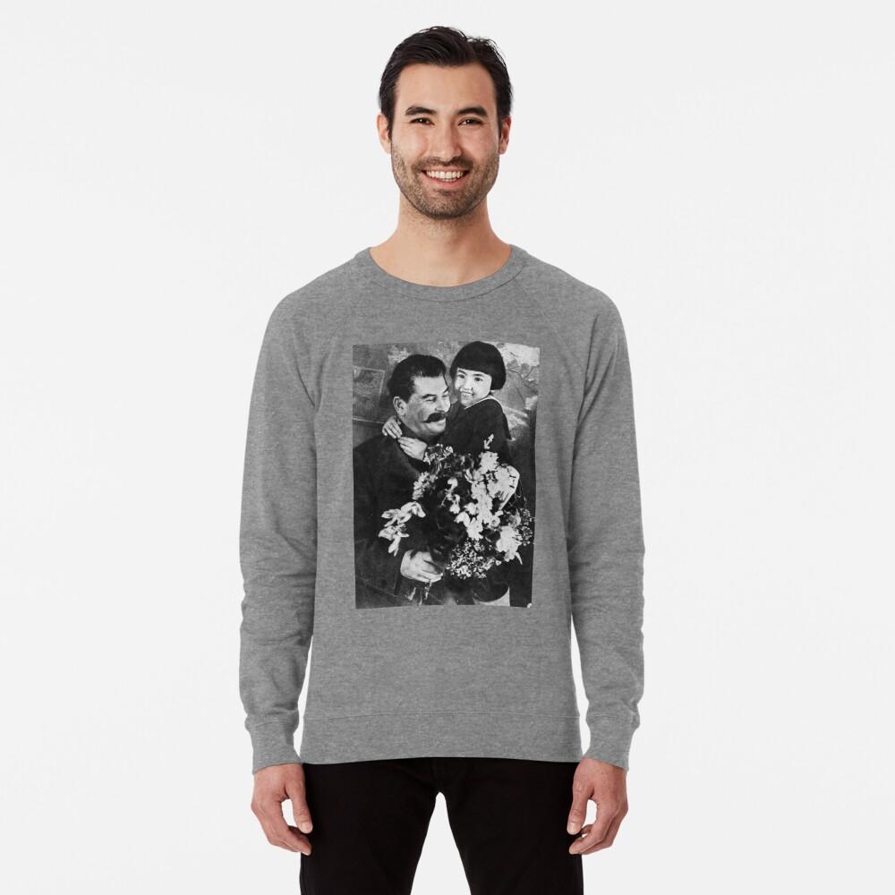 Stalins cult of personality #Сталин #ИосифВиссарионович #Ежов #Берия #Жданов #Молотов #Ленин #ГУЛАГ #Нориллаг #Культличности #репрессии #депортация #тюрьма #казнь #политзаключенный #Stalin Lightweight Sweatshirt