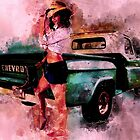 Chebby Pickup and the CowGirl what Drives Her by ChasSinklier