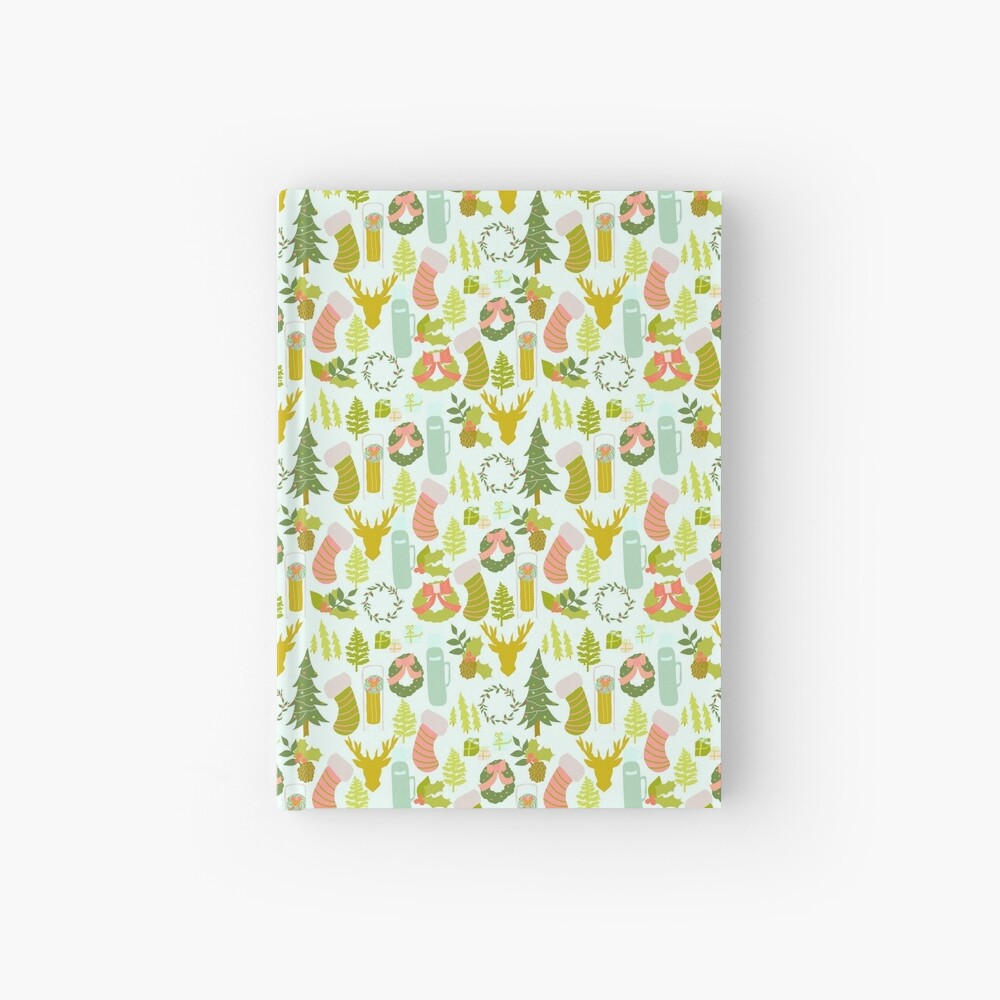 Vintage Christmas Hardcover Journal