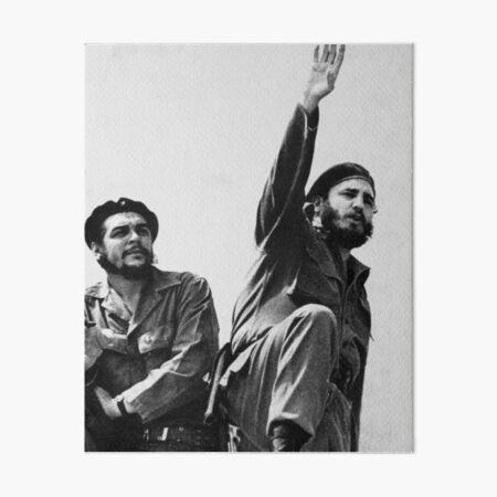 Libertad Cuba-Che Guevara y Fidel Castro Lámina rígida