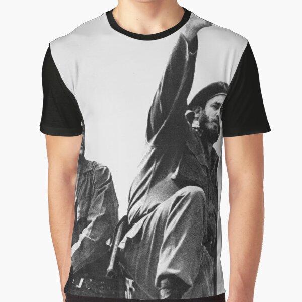 Libertad Cuba-Che Guevara & Fidel Castro T-shirt graphique