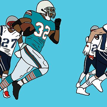 Miami's Miracle Touchdown by RatTrapTees